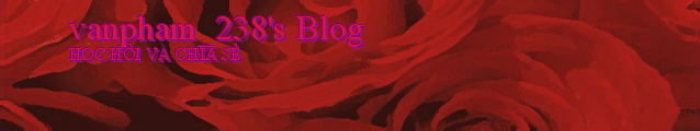 vanpham_238's Blog