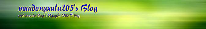 muadongxula205's Blog