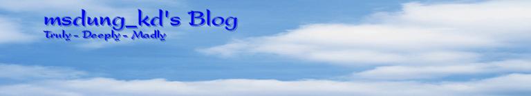 msdung_kd's Blog