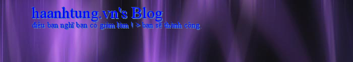 haanhtung.vn's Blog