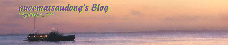 nuocmatsaudong's Blog