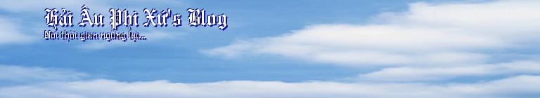 Hải Âu Phi Xứ's Blog