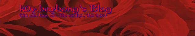 k0y.baybong's Blog