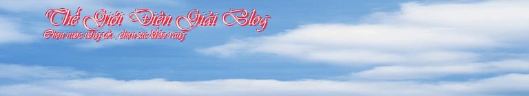 Thế Giới Điện Giải Blog