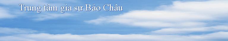 Trung tâm gia sư Bảo Châu