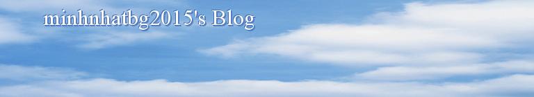 minhnhatbg2015's Blog