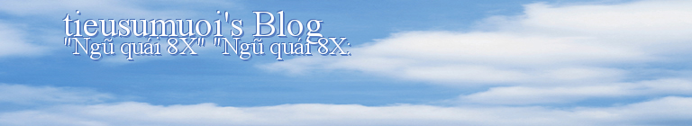 tieusumuoi's Blog