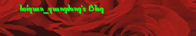 hoiquan_quangdong's Blog