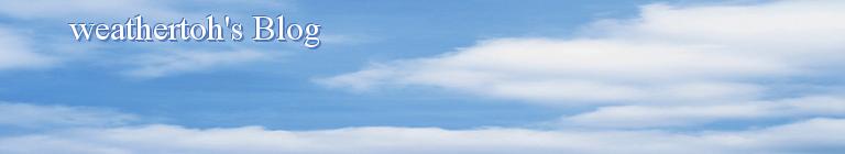 weathertoh's Blog
